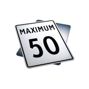 maximum speed traffic sign