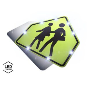 LED School Zone Sign by 310 sign inc